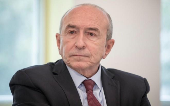 Bộ trưởng Nội vụ Pháp Gerard Collomb