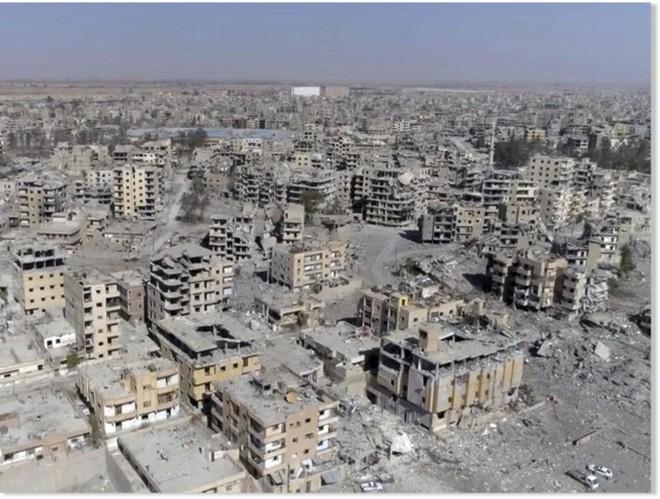 Raqqa chỉ còn là thành phố chết