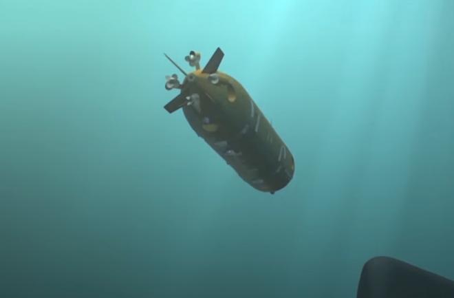 Mô phỏng thiết bị lặn không người lái mới của Nga