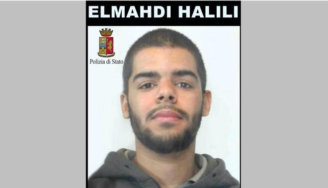 Elmahdi Halili, người Ý gốc Maroc, lên kế hoạch tấn công khủng bố bằng xe tải