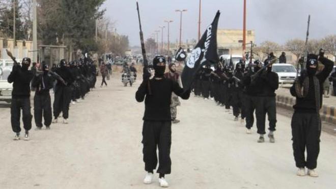 Các tay súng Nhà nước Hồi giáo tự xưng IS tại Iraq