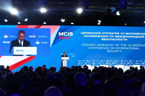 Bộ trưởng Quốc phòng Nga Sergei Soigu