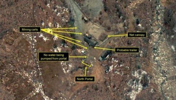 Hình ảnh vệ tinh cho thấy Triều Tiên vẫn sẵn sàng cho một vụ thử hạt nhân mới