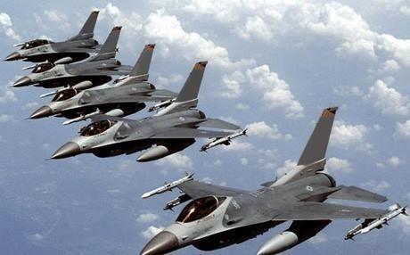 F-16 của không quân Iraq tham gia tấn công bên trong lãnh thổ Syria