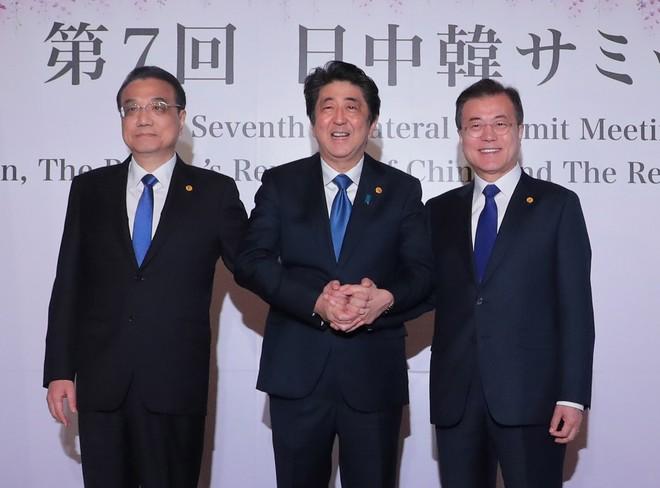 3 nhà lãnh đạo tham gia hội nghị thượng đỉnh Nhật Bản, Trung Quốc, Hàn Quốc