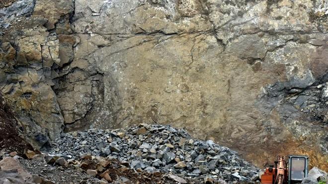 Hiện trường vụ nổ tại mỏ đá huyện Dumka, Ấn Độ