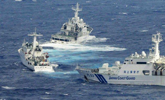 Lần thứ 10 trong năm nay, tàu hải cảnh Trung Quốc đi vào vùng biển tranh chấp với Nhật Bản