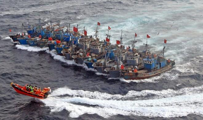 Tàu cá Trung Quốc bị lực lượng Hải cảnh Hàn Quốc bắt giữ