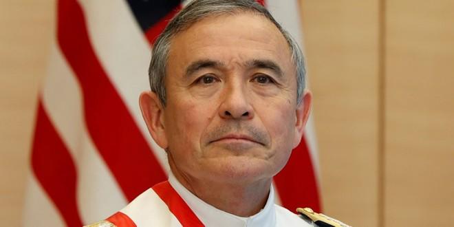 Cựu tư lệnh Bộ Chỉ huy Thái Bình Dương (PACOM) Đô đốc Harry Harris