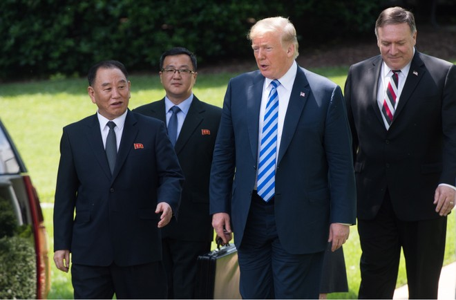 Tổng thống Mỹ gặp ông Kim Yong-chol tại Nhà Trắng