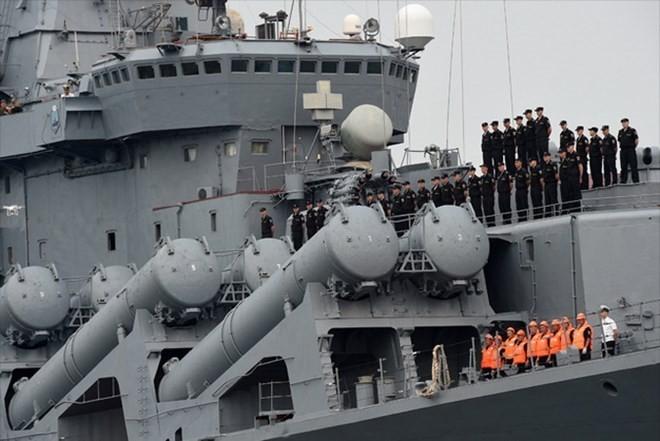 Tàu tuần dương Varyag của Hạm đội Thái Bình Dương Hải quân Nga