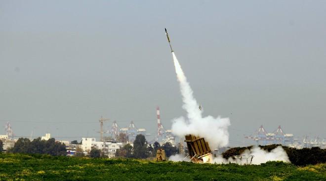 Trong mấy ngày gần đây hệ thống phòng thủ Vòm Sắt của Israel liên tục đánh chặn các đợt tấn công của phong trào Hamas