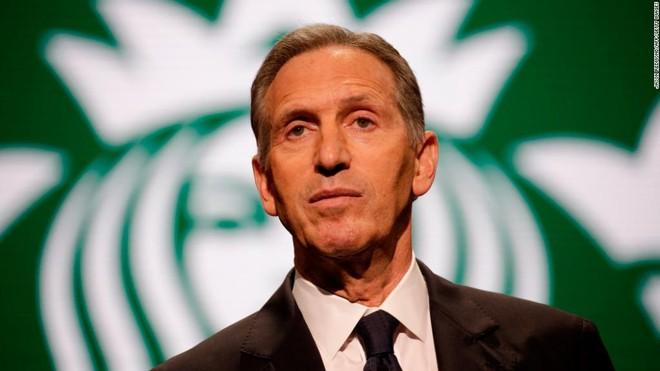 Chủ tịch điều hành Starbucks Howard Schultz với những quan điểm rất thẳng thắn về nạn phân biệt chủng tộc tại Mỹ