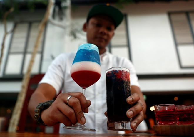 Ly cocktail Trump-Kim