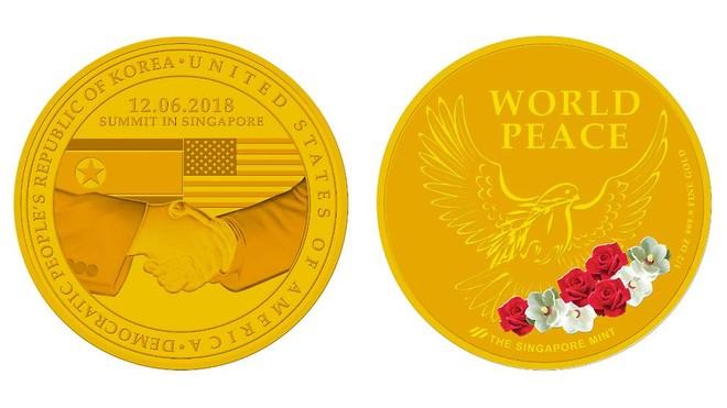 Huy chương vàng lưu niệm về hội nghị thượng đỉnh