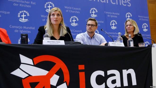 Nhóm chiến dịch chống hạt nhân đoạt giải Nobel Hoà bình năm 2017 (ICAN) sẵn sàng chi trả chi phí cho đoàn Triều Tiên tại Singapore