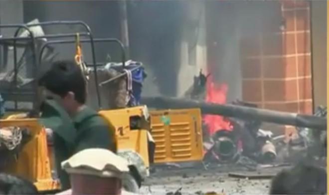 Vụ nổ gây thương vong lớn do một kẻ đánh bom tự sát