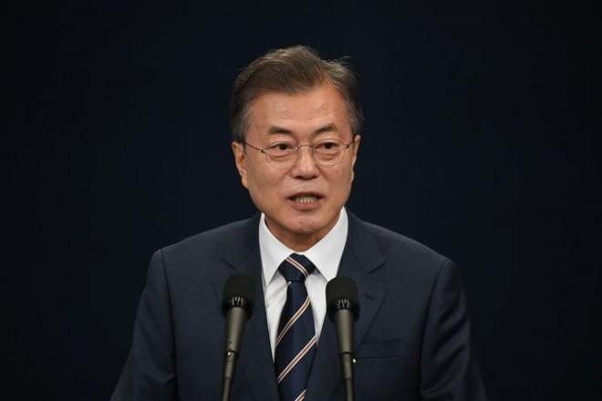 Tổng thống Hàn Quốc Moon Jea-in hy vọng kỷ nguyên mới mở ra sau hội nghị thượng đỉnh Mỹ-Triều Tiên