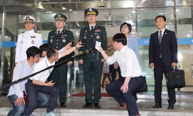 Phái đoàn quân sự Hàn Quốc tham gia đàm phán