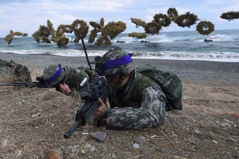 Các cuộc tập trận chung giữa Mỹ và Hàn Quốc bị hoãn vô thời hạn