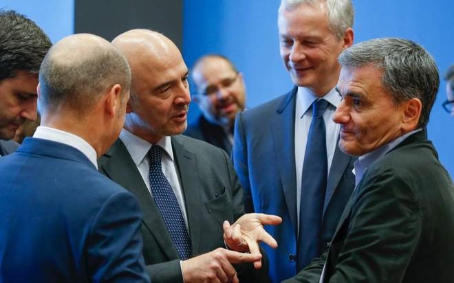 Các bộ trưởng tài chính châu Âu thảo luận chính sách với Hy Lạp