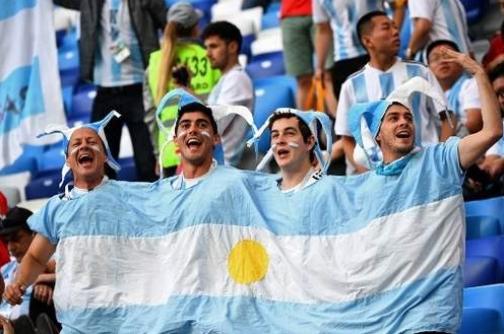 Ngoài các trường hợp bị trục xuất phần lớn các cổ động viên Argentina đến Nga là để thưởng thức ngày hội bóng đá