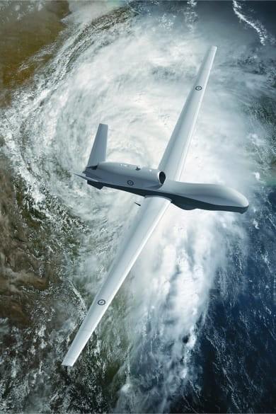 Triton được tập đoàn quốc phòng Northrop Grumman của Mỹ sản xuất