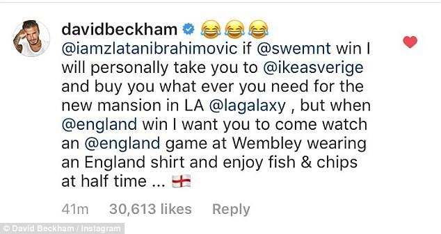 Lời đáp của David Beckham trên mạng xã hội