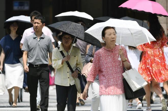 Nắng nóng tại Nhật Bản làm nhiều người thiệt