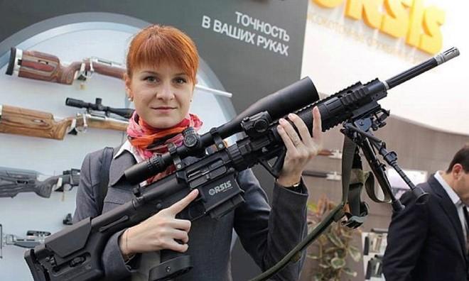 Maria Butina hoạt động trong nhóm Quyền được mang vũ khí (Right to Bear Arms)