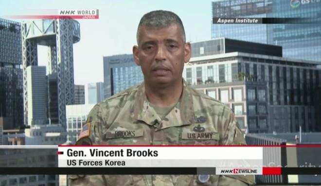 Tư lệnh Các lực lượng Mỹ tại Hàn Quốc (USFK), Tướng Vincent Brooks cảnh báo về khả năng sản xuất nguyên liệu hạt nhân của Triều Tiên