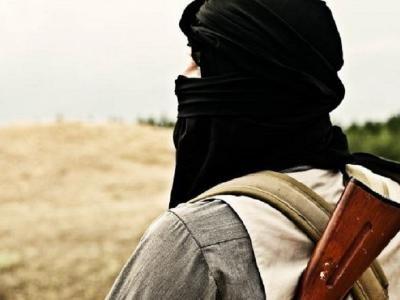 Một chiến binh Nhà nước Hồi giáo tự xưng (IS) tại Afghanistan