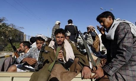 Các tay súng của nhóm Houthi tại Yemen