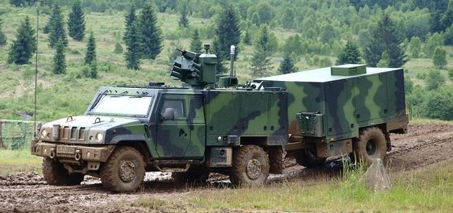 Xe bọc thép hạng nhẹ S-LOV-CBRN