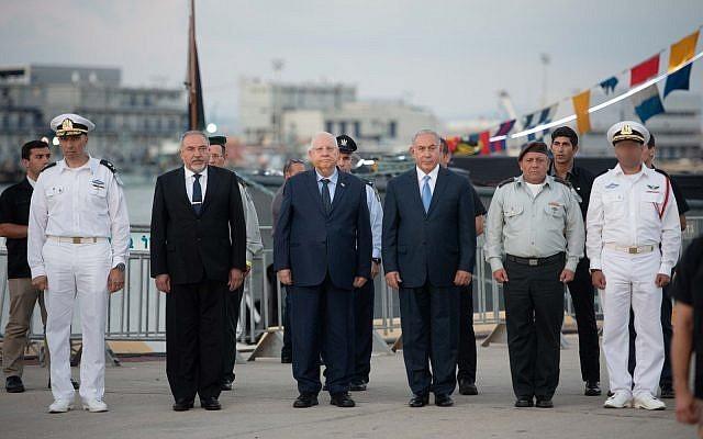 Ông Netanyahu tham gia lễ diễu hành ở thành phố Haifa