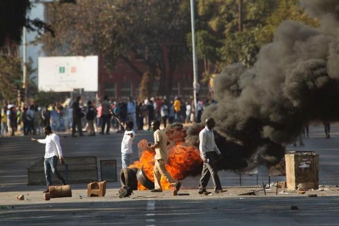 Bạo lực tại thủ đô Harare trong quá trình bầu cử