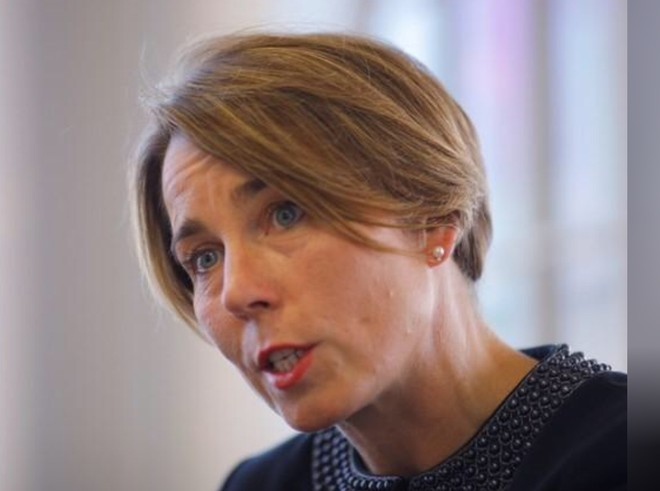 Tổng chưởng lý Maura Healey, thành viên đảng dân chủ ở Massachusetts