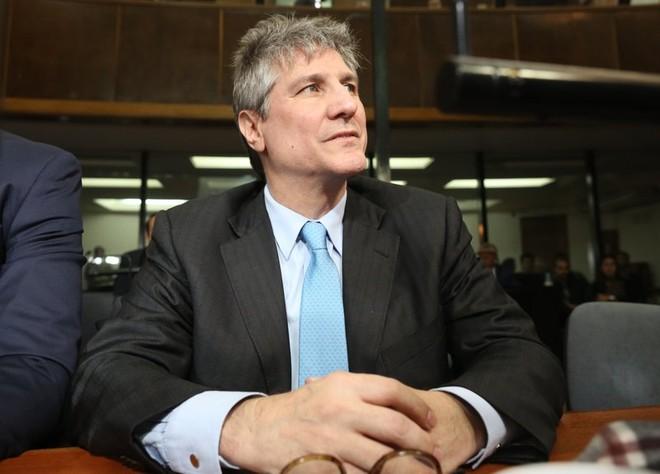 Cựu Phó Tổng thống Argentina Amado Boudou tại phiên toà