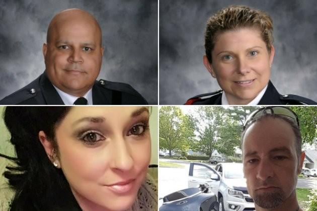 4 nạn nhân trong vụ xả súng