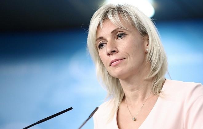 Người phát ngôn Bộ Ngoại giao Nga, Maria Zakharova