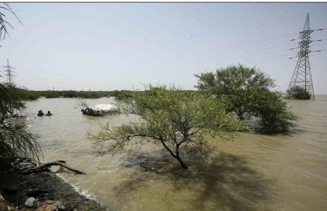 Sudan nằm trong khu vực mưa lũ lớn