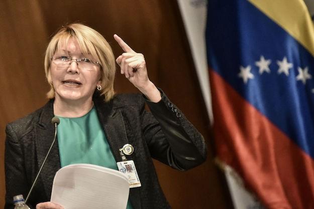 Cựu Bộ trưởng Tư pháp Luisa Ortega Diaz