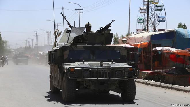 Lực lượng an ninh Afghanistan trong chiến dịch giải cứu con tin