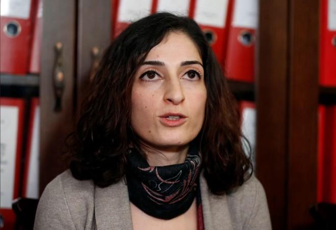 Nhà báo Mesale Tolu, 34 tuổi, công dân Đức