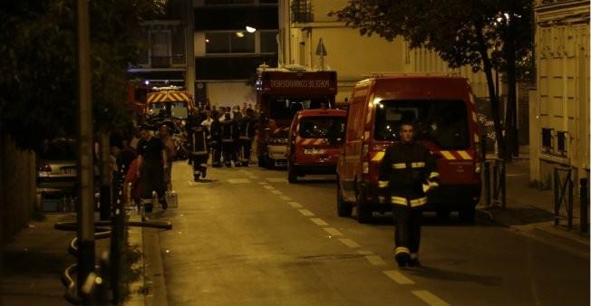 Nhiều lính cứu hoả bị thương trong vụ cháy