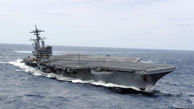 Tàu sân bay USS George H. W. Bush sẽ hoạt động cho Hạm đội 2 của Mỹ tại Bắc Đại Tây Dương