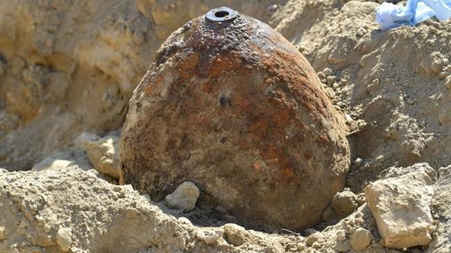 Quả bom nặng 500 kg được phát hiện tại Đức