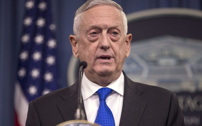 Bộ trưởng Quốc phòng Mỹ James Mattis tuyên bố khôi phục tất các các cuộc tập trận trên Bán đảo Triều Tiên