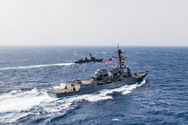 Khu trục Mỹ USS Jason Dunham tham gia Lực lượng đặc nhiệm hỗn hợp 150