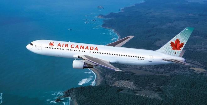 Hàng không Air Canada gặp sự cố về dữ liệu khách hàng